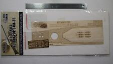 Hunter 1/350 USS INDIANAPOLIS CA-35 wooden deck for TRUMPETER 05326 (W35006)