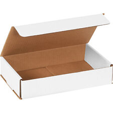 White Corrugated Boxes 10 X 6 X 2 For Mailingshipping Ect 32b 50case
