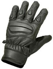Gants en pré-courbé en cuir jointures pour motocyclette