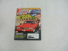 Super Chevy Magazine ~ November 1998 ~ Head Of Its Class Graduation Day For The