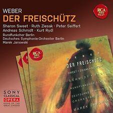 CARL MARIA VON WEBER - DER FREISCHÜTZ (JANOWSKI/SWEET/SEIFFERT/+)  2 CD NEU