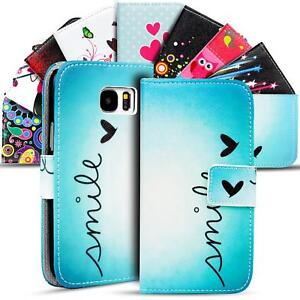 Schutz Hülle für Samsung Galaxy Handy Tasche Flip Cover Wallet Etui Case Schale