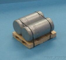 Pallet w/ Industrial Roller Assemblies - G Scale - 101-0008