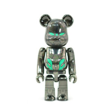 Real Steel 100% Bearbrick Be@Rbrick Series 23 SF Chrome Zeus Limited Rare Secret