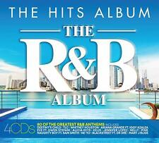 THE HITS ALBUM: THE R&B ALBUM 4 CD - Various Artists (Released 2/08/2019)