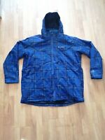 Columbia Omni Heat Interchange 2 In 1 Winter Ski Snow Hooded Blue Jacket - 2XT