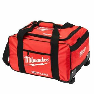 "Milwaukee M18 19"" Fuel Large Contractors Heavy Duty Duffel Tool Bag With Wheels"