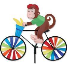 """20"""" MONKEY on a Bike Spinner, Whirligig, Garden Stake by Premier Design"""