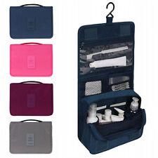 Travel Waterproof Organizer Accessory Toiletry Cosmetics Make Up Shaving Kit Bag
