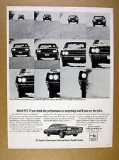 1967 AMC Rebel SST car photo vintage print Ad
