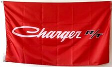 Dodge charger RT flag 3x5ft Black Banner Garage Man cave