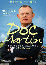 New DVD Box Set:  Doc Martin:  Six Surly Seasons + The Movies (UPC 054961241897)