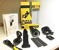 Ciclo del motor Motor Bicicleta Casco Acción Deportes Cámara Cam HD 1080P 32GB Impermeable
