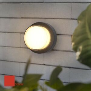 3000K/4000K Modern AL LED Wall Lamp Garden Corridor Balcony 8W Waterproof Sconce