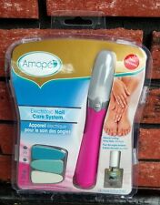 Amope Pedi Perfect Electronic Nail Care System w/ Nail Oil