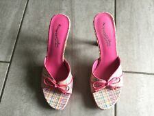 Somethin'else from Skechers Ladies Heeled Mule Shoes Size 3.5. Great Condition.