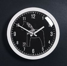 Modern Art Design Unicorn Round Wall Clock Home Decor Interior Gift - RoundBKW