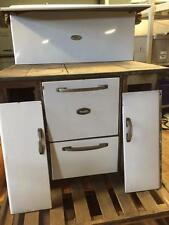 Copper-Clad Antique Wood Cook Stove Range Kitchen Range NEEDS REFURB Cast Iron