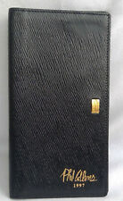 More details for phil collins 1997 tour st dupont rieger genesis leather wallet collector rare