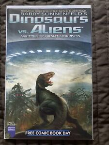 Dinosaurs Vs Aliens. Special Preview