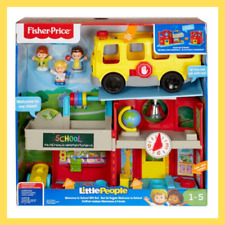 Fisher Price School Little People Welcome To School Gift Set