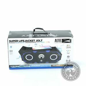 NEW Altec Lansing IMW889L-RYB Super LifeJacket Jolt with Lights in Blue