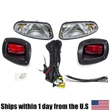 EZGO RXV Golf Cart Basic Light Kit Halogen Headlights & LED Taillights Ez-Go
