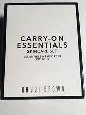 Bobbi Brown Carry-on Essentials Skincare Set Travel Size Face/ Eye Cream Nib