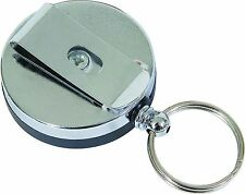 VIPER BELT MOUNTED RETRACTABLE EXTENDING KEY SIA SECURITY ID BADGE CLIP & HOLDER