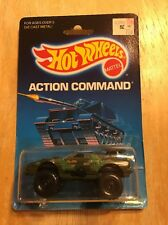 Hot Wheels Sting Rod Action Command #5025 New in Package 1988 Olive 3+ 1:64