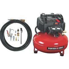 PORTER CABLE C2002 150 PSI Portable 6 Gallon Oil-Free Pancake Air Compressor...
