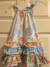 Matilda Jane Up in the Air Dress Girls Happy And Free Size 4