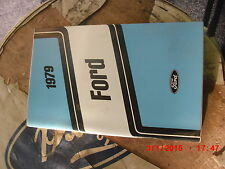 1979 Ford Ltd and Crown Victoria New Glove Box Owner's Manual