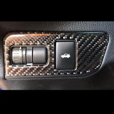 Carbon Fiber Trunk Switch Button Decorative Frame Cover For Toyota 86 Subaru BRZ