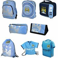 Official Manchester City Football Club Blue Backpack / Wallet / Gym / Shoe Bag