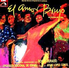 LP - El Amor Brujo - Manuel de Falla (B. S. O.) Rocio Jurado y Varios *NEW*NUEVO