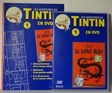 DVD Tintin - Le Lotus Bleu