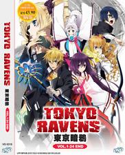 ANIME DVD Tokyo Ravens Vol.1-24 End ENGLISH DUBBED Region All + FREE SHIP