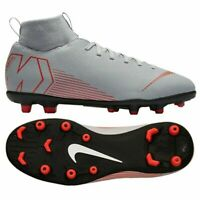 Football shoes Nike Mercurial Superfly 6 Club Mg Jr AH7339 060 Gray Sz 4.5