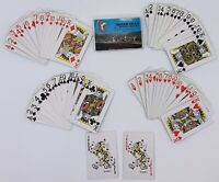 Indian Head Motel Lincoln N.H. NH playing cards Complete in box 52 + 2 Jokers