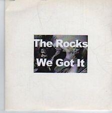 (DE289) The Rocks, We Got It/The Bomb - DJ CD