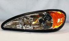 Eagle Eyes GM229-B001L Driver Side Replacement Headlight For Pontiac Grand Am