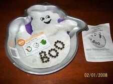 Wilton Spooky Ghost ,Halloween Casper Spirit Party Cake Pan ,Tin, Mold+Insert+In