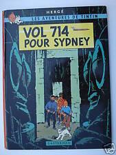 TINTIN VOL 714 POUR SYDNEY - B39 - 1971