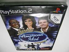 Karaoke Revolution Presents: American Idol Encore (Sony PlayStation 2) BRAND NEW