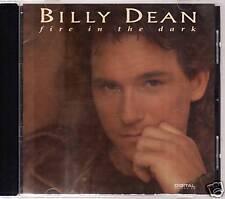 "BILLY DEAN ""FIRE IN THE DARK"" CD 1993 liberty"