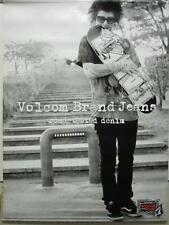 Volcom skateboard Dustin Dollin Chima Ferguson Huge Double Sided Banner Flawless