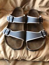 Birki's Size Men's 13 Grey & White