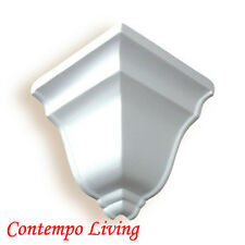 """5-1/4"""" Projection 4"""" H Pu Crown Moulding Outside corner"""
