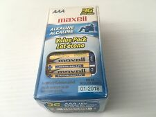 Maxell AAA Alkaline Battery (Pack of 36) Model: LR03-36